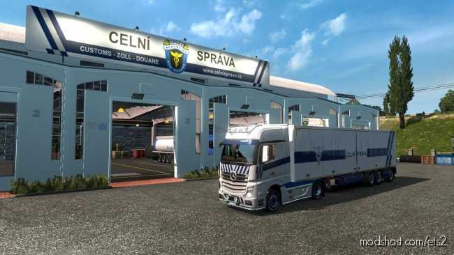 Celni Spava CR Pack [1.36] for Euro Truck Simulator 2