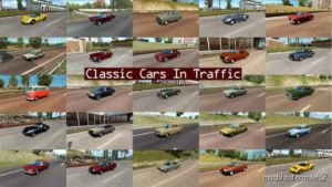Classic Cars Traffic Pack By Trafficmaniac V4.6 for Euro Truck Simulator 2