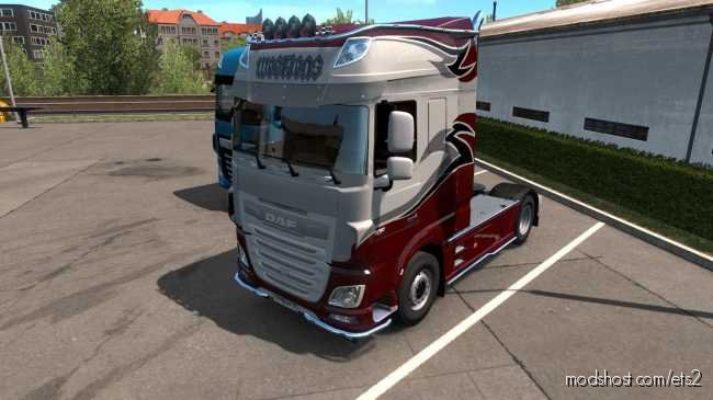 DAF XF Euro 6 Weetjens Skin for Euro Truck Simulator 2