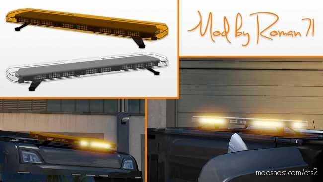 LED Stroboscopic Beacons V1.5 for Euro Truck Simulator 2