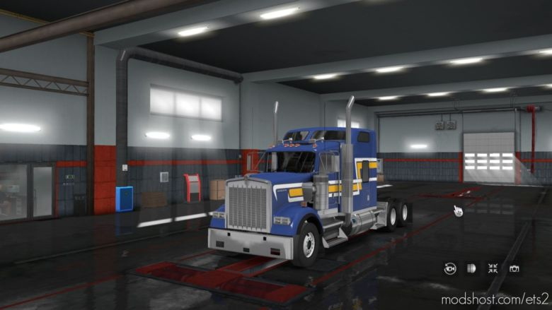 GTM Kenworth W900B ETS2 Versi̇on for Euro Truck Simulator 2