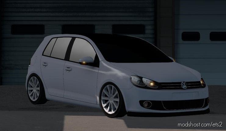 VW Golf 6 [1.36.X] for Euro Truck Simulator 2