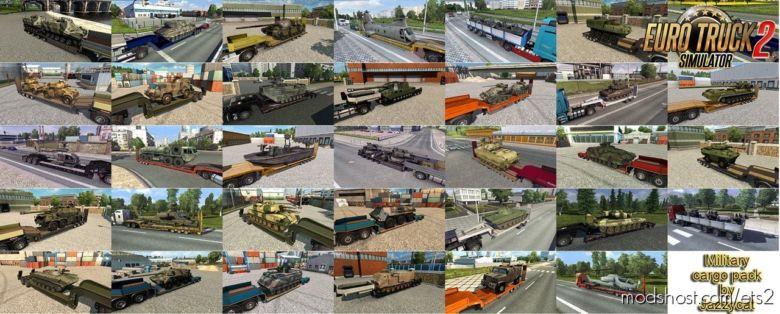 Military Cargo Pack V4.2 (1.36.X) for Euro Truck Simulator 2