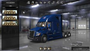 Freightliner Cascadia 2018 V1.15 FIX [1.37] Truck for American Truck Simulator