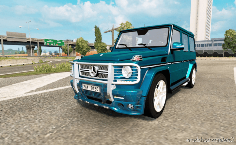 Mercedes-Benz G 65 AMG (W463) (1.36) for Euro Truck Simulator 2