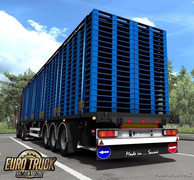 Plateau Savc Trailer Pack [1.36.X] for Euro Truck Simulator 2