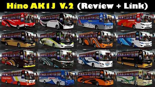 Hino AK1J V2.0 Final Update ETS2 [1.36.X] for Euro Truck Simulator 2