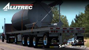 Alutrec Flatbed V1.1 [1.36] & UP Trailer for American Truck Simulator