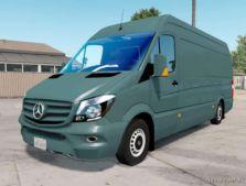 Mercedes-Benz Sprinter 315 CDI LWB 2015 for American Truck Simulator