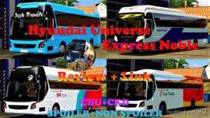 Hyundai Universe Express Noble 1.31 – 1.35 for Euro Truck Simulator 2