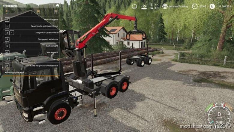 Langholz LKW for Farming Simulator 19