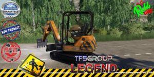 Nomad Excavator Tfsg V1.5 for Farming Simulator 19