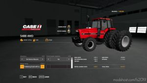 International 5488 4WD V2 for Farming Simulator 19
