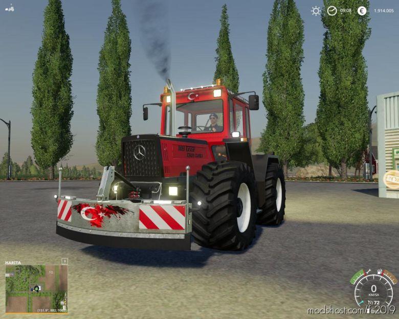 Markalar Agirlik Tamponu for Farming Simulator 19