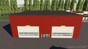 Large Mechanic Shop V1.1.0.2 for Farming Simulator 19