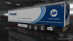 Krone Trailer 3RD Axle Liftable [1.36.X] for Euro Truck Simulator 2