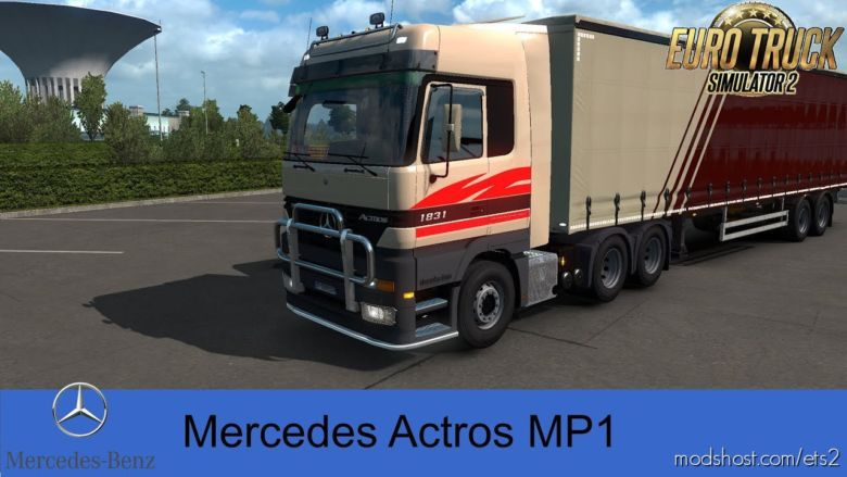 Mercedes Benz MP1 Valhein Edition V1.1.1 [1.36.X] for Euro Truck Simulator 2