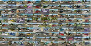 Busses In Traffic Pack V9.2 [1.36.X] for Euro Truck Simulator 2