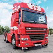 DAF CF85.480 6×4 Space CAB 2006 Truck for American Truck Simulator