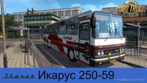 Ikarus 250.59 2020 V2.0 [1.36.X] for Euro Truck Simulator 2