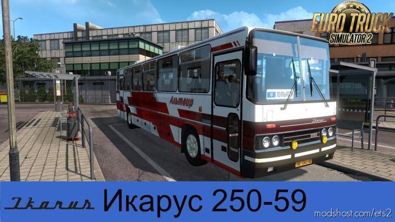 Ikarus 250.59 2020 V2.0 [1.36.X] for Euro Truck Simulator 2