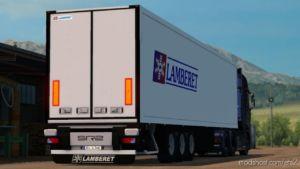 Lamberet Trailer V4.3 -Upgrade- By Donovan [1.36.X] for Euro Truck Simulator 2