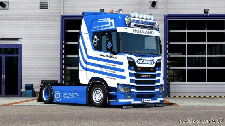 Hans Lubrecht Transport Skin For Scania S for Euro Truck Simulator 2