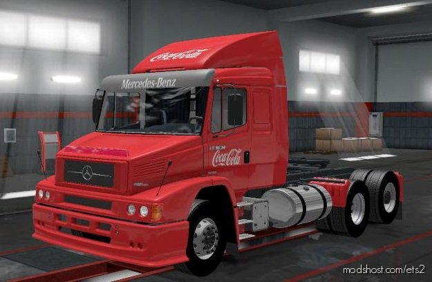 Mercedes 1634 RC Brasil [1.36.X] for Euro Truck Simulator 2