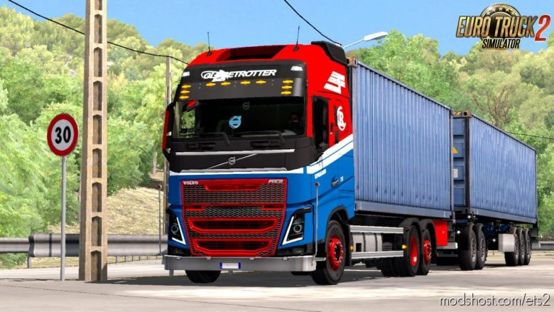 Rpie Volvo FH16 2012 V1.37.0.65 Beta [1.36 – [1.37]] for Euro Truck Simulator 2