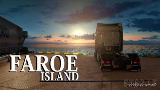 Map Faroe Island (Part 1) [1.36] for Euro Truck Simulator 2