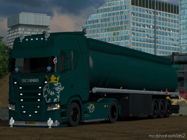 Scani̇a S LOW Deck [1.36] for Euro Truck Simulator 2