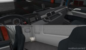 SCS MAN TGX Euro 6 Interior Improvements for Euro Truck Simulator 2