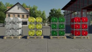 Pallets With Barrels V2.0 for Farming Simulator 19