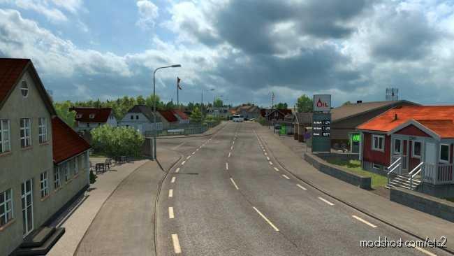 Laesoe – Promods Add-On [1.36] for Euro Truck Simulator 2