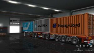 D-Tec CombiTrailer for Euro Truck Simulator 2