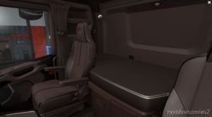 Scania Nextgen 2016 – Exclusive Brown Interior [1.36.X] for Euro Truck Simulator 2