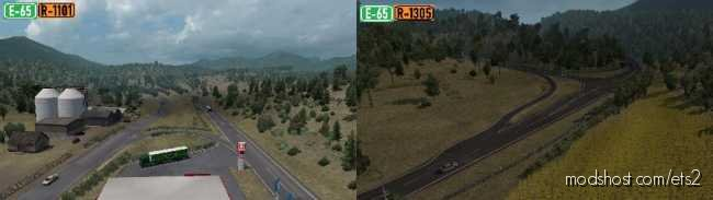 North Macedonia Rework V1.3.0 [1.36] for Euro Truck Simulator 2
