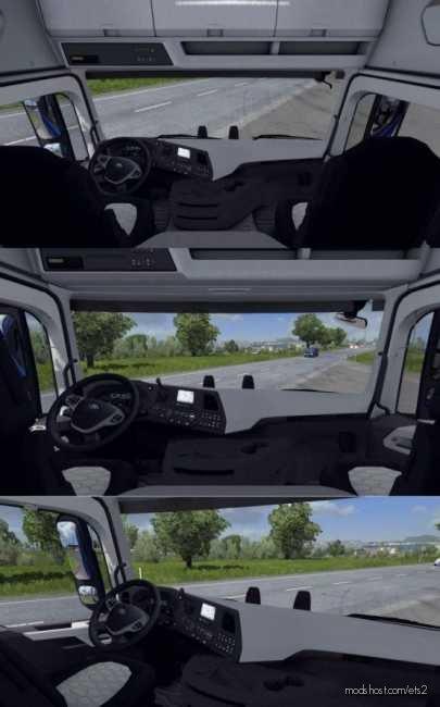 Seat Adjustment NO Limits (Interior Multi View Camera) V2.5 for Euro Truck Simulator 2