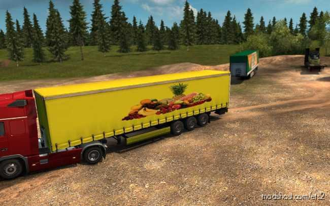 Skin Fruits V1.1 for Euro Truck Simulator 2