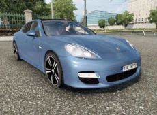 Porsche Panamera Sport 2010 -Updated- [1.36.X] for Euro Truck Simulator 2