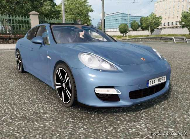 Porsche Panamera Sport 2010 -Updated- [1.36.X] for Euro Truck Simulator 2