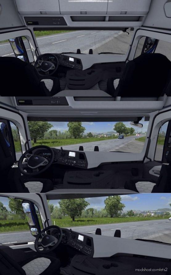 Free Seat Adjustment (Interior Multi View Camera) V2.5 [1.36.X] for Euro Truck Simulator 2