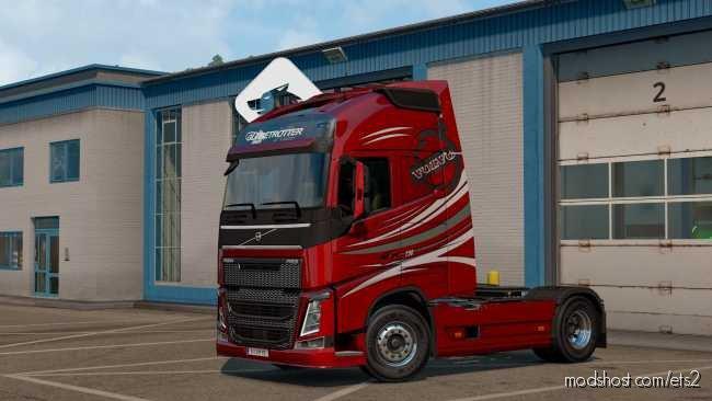 Volvo Skin Stock/Metallic V2.0 Kacperkwc [1.36] for Euro Truck Simulator 2