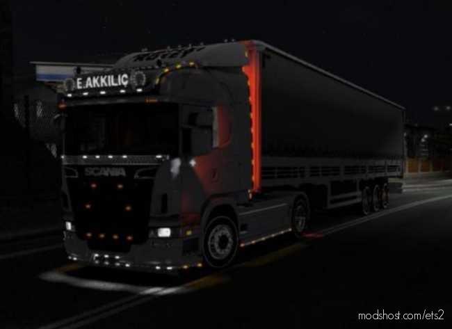 Turkish Curtain HAL Trailer [1.36.X] for Euro Truck Simulator 2