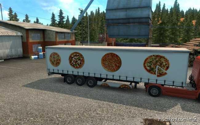 Skin Pizza V1.0.0.0 for Euro Truck Simulator 2