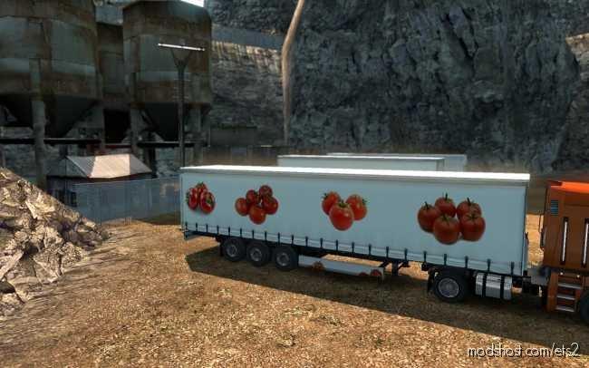 Skin Tomatoes for Euro Truck Simulator 2