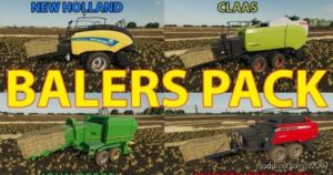 Balers Packs for Farming Simulator 19