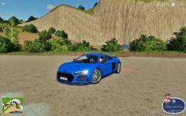 Audi R8 for Farming Simulator 19