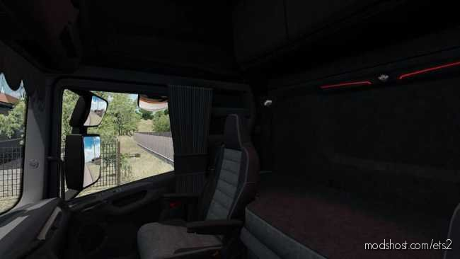 Scania 2016 Grey Interior [1.36] for Euro Truck Simulator 2