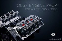 Olsf Engine Pack 48 For ALL Trucks [1.37] for Euro Truck Simulator 2